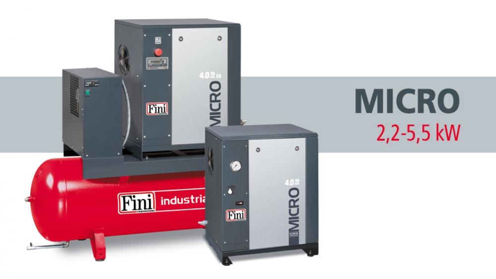 MICRO: от 2,2 до 5,5 кВт